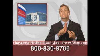 Health Insurance Hotline TV Spot For Health Insurance Update - Thumbnail 9