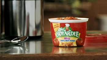Chef Boyardee TV Spot For Ravioli Minis