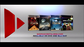 History Channel TV Spot for Ancient Aliens On DVD - 282 commercial airings
