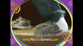 Silly Slippeez TV Spot for Slippers That Pop To Life - Thumbnail 5