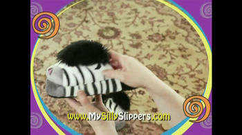 Silly Slippeez TV Spot for Slippers That Pop To Life - Thumbnail 6