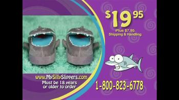 Silly Slippeez TV Spot for Slippers That Pop To Life - Thumbnail 8