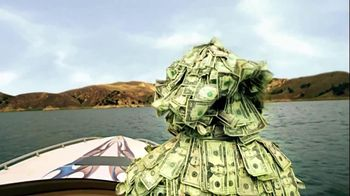 GEICO TV Spot, 'Money Man: Boat'