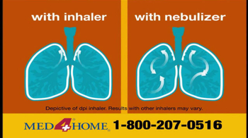Med 4 Home TV Spot For Portable Nebulizer - Thumbnail 3