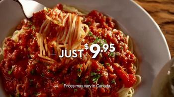 Olive Garden Tv Commercial For Never Ending Pasta Bowl
