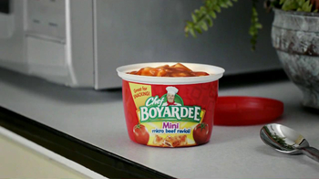 Chef Boyardee TV Spot For Mini Micro Beef Ravioli - Thumbnail 7