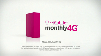T-Mobile Monthly 4G TV Spot, 'Slow Motion' - Thumbnail 9