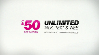 T-Mobile Monthly 4G TV Spot, 'Slow Motion' - Thumbnail 8