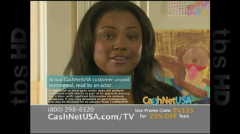Cash Net USA TV Spot For Loans - Thumbnail 2