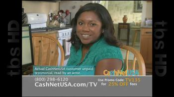 Cash Net USA TV Spot For Loans - Thumbnail 9