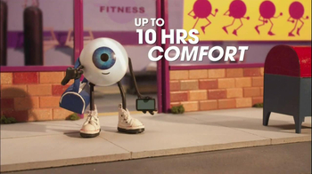 Visine With Hydroblend TV Spot Technology Screens