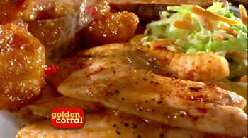 Golden Corral Tropical Island Grill TV Spot