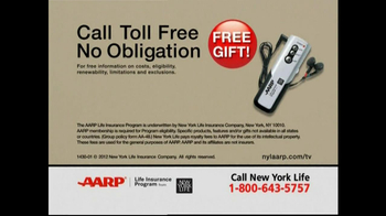 AARP TV Spot For Level Benefit Term Life Insurance - Thumbnail 6