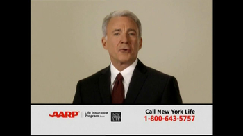AARP TV Spot For Level Benefit Term Life Insurance - Thumbnail 3