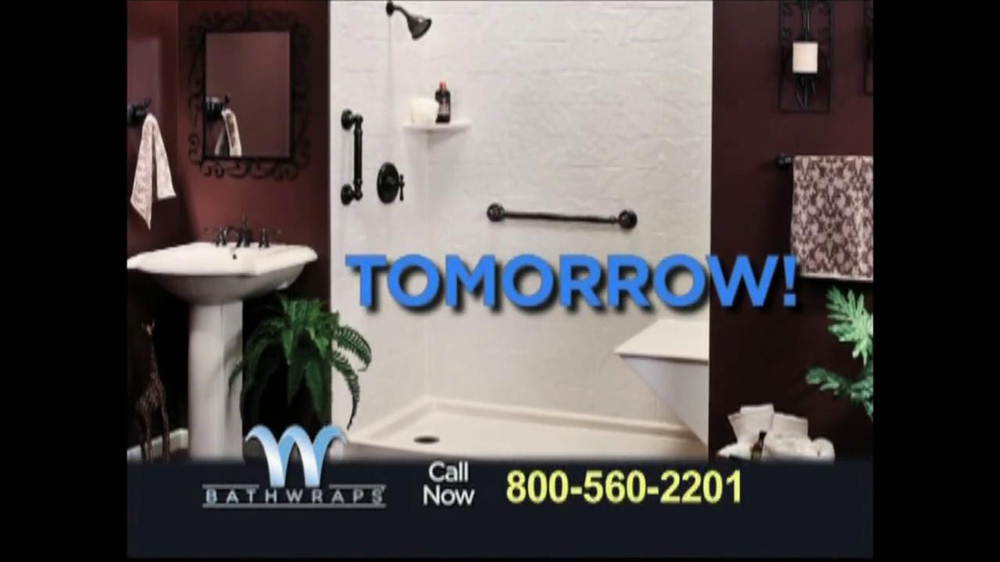 Bathwraps tv commercial for redesign your bathroom for Redesign your bathroom