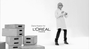 L'Oreal Age Perfect Hydra-Nutrition Golden Balm TV Spot Feat. Diane Keaton