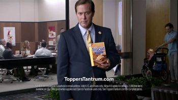Triscuit TV Spot For Toppers Tantrum