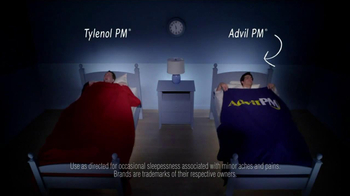 Advil TV Spot, 'Tylenol PM vs. Advil PM' - Thumbnail 4