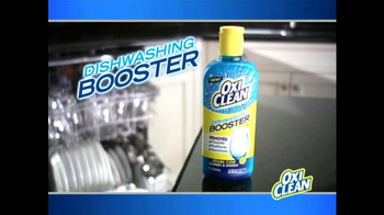 OxiClean Dishwashing Booster TV Spot Featuring Anthony Sullivan