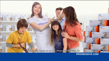 Progressive TV Spot, 'Awkward Family Photo' - 66 commercial airings