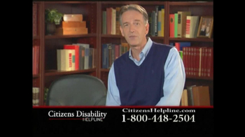 Citizens Disability Helpline TV Spot For Disability - Thumbnail 7