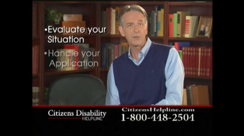 Citizens Disability Helpline TV Spot For Disability - Thumbnail 8