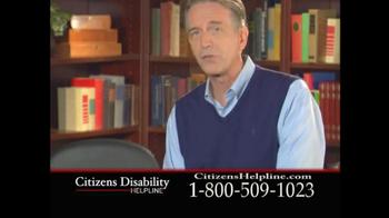 Citizens Disability Helpline TV Spot For Receive Benefits - Thumbnail 3