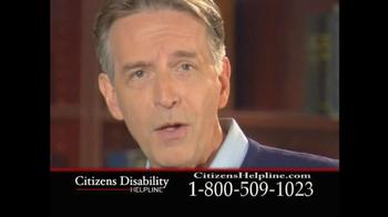 Citizens Disability Helpline TV Spot For Receive Benefits - Thumbnail 5