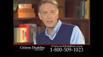 Citizens Disability Helpline TV Spot For Receive Benefits - Thumbnail 9