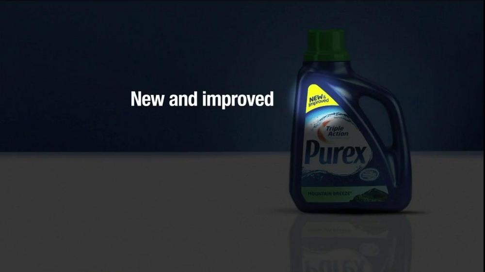 Purex Tv Commercial For Purex Triple Action Ispot Tv