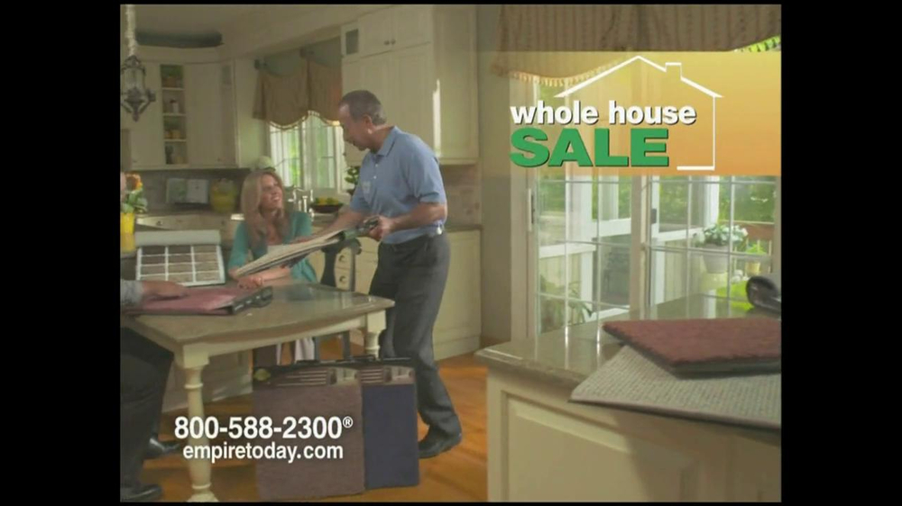 Empire Today TV Commercial For Whole House Sale - iSpot.tv