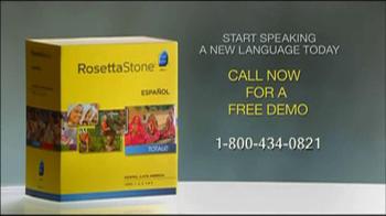 Rosetta Stone TV Spot For More Than Words