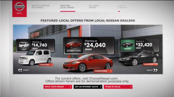 Nissan TV Spot For Choosenissan.com - Thumbnail 2