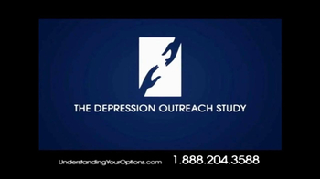 Depression Outreach Study TV Spot for Understand Your Options