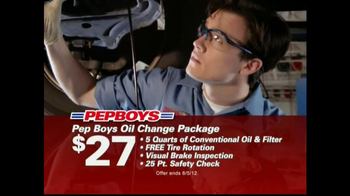 pep boys oil change packages small. Black Bedroom Furniture Sets. Home Design Ideas