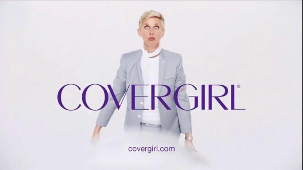 Covergirl ad ellen