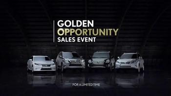 Lexus Golden Opportunity TV Spot, 'Our Gold Standard of Safety' - Thumbnail 9