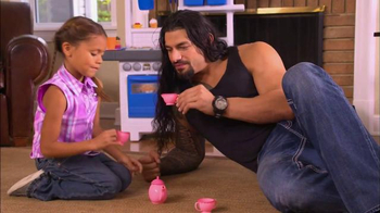 Fatherhood Involvement TV Spot, 'Tea Pot' Featuring Roman Reigns