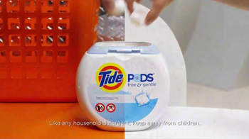 Tide Pods Free and Gentle TV Spot, 'Gentle'