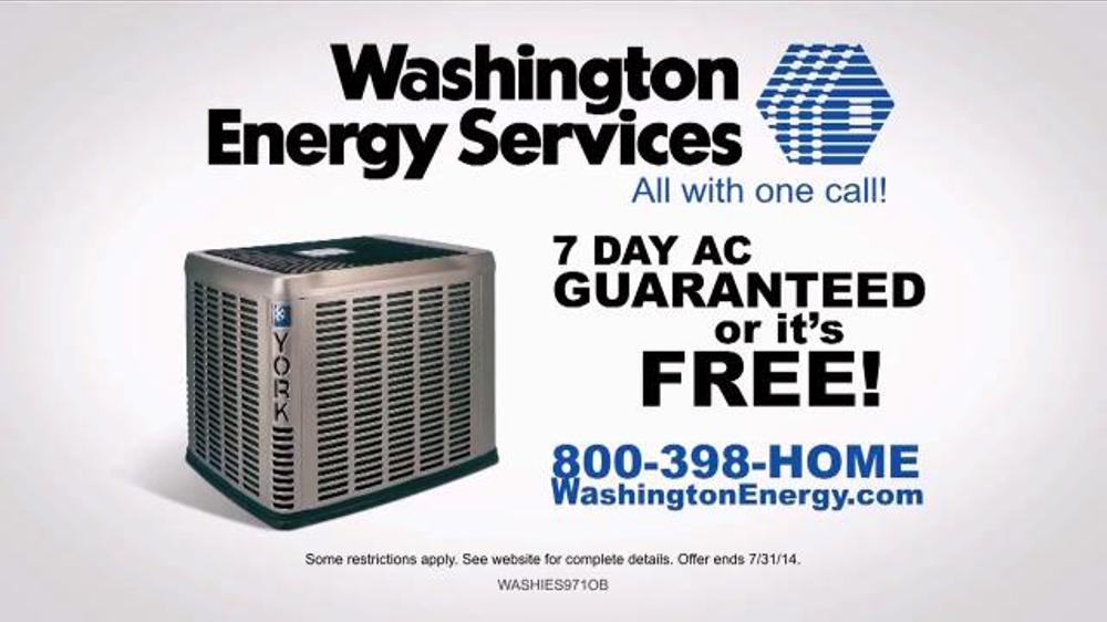 Washington Energy Services Tv Commercial 39 Don 39 T Sweat It