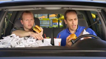 Sonic Drive-In Half-Price Cheeseburgers for Tax Day TV Spot, 'Receipts'
