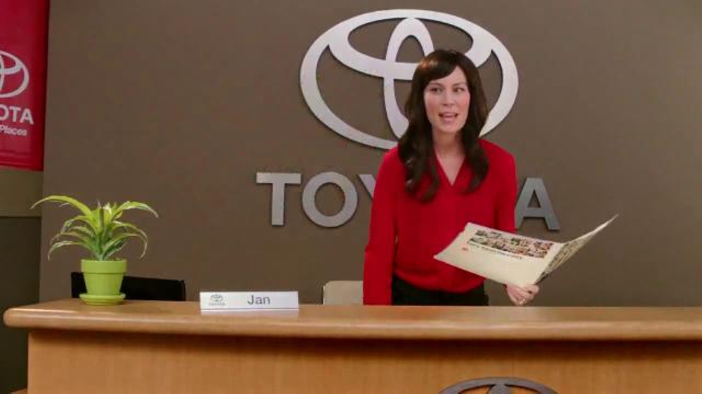 2015 Toyota Corolla TV Commercial, 'Brochure Readings with Jan ...