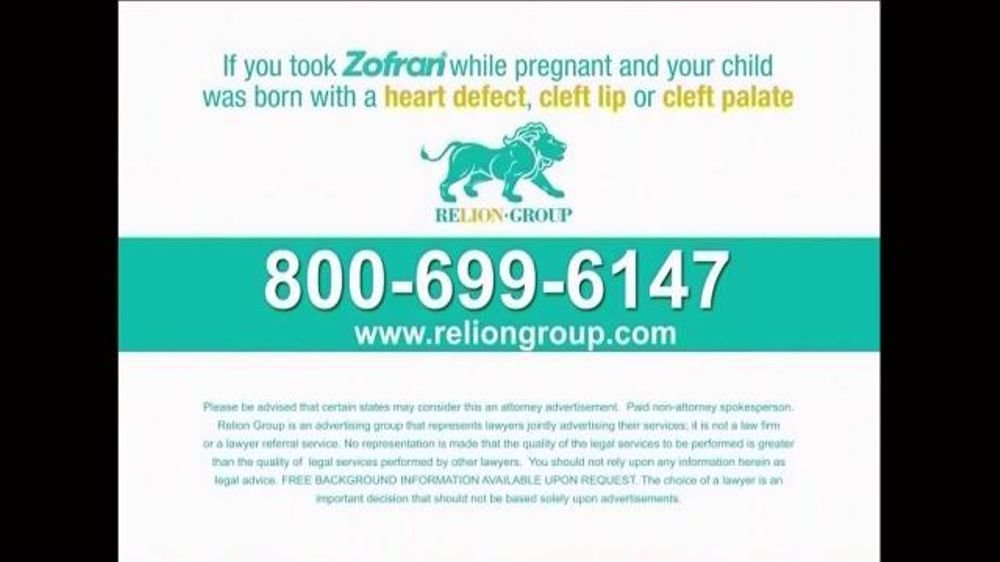 Pulaski Law Firm >> Relion Group TV Commercial, 'Zofran During Pregnancy' - iSpot.tv