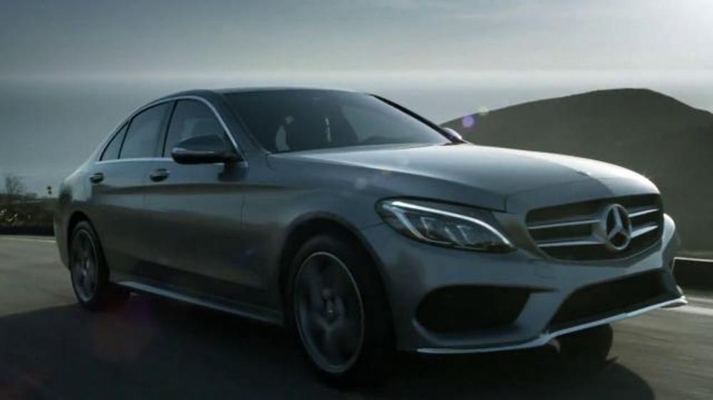 2015 mercedes benz c 300 tv commercial 39 automotive for Mercedes benz winter event commercial