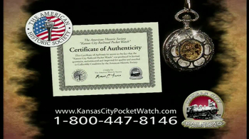 Kansas City Pocket Watch TV Spot