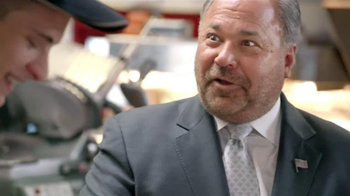 Arby's TV Spot, 'Triple Fresh Spinach' Featuring Bo Dietl - Thumbnail 7