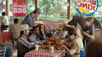 Burger King TV Spot, 'BBQ Summer'