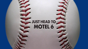Motel 6 TV Spot, 'Baseball Fans'