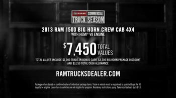 Ram Commercial Truck Season TV Spot, 'Best in Class' - Thumbnail 9