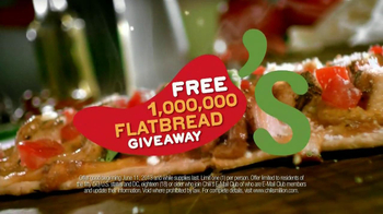 Chili's TV Spot, 'Free Flatbread'